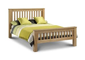 Amsterdam Oak, 5ft King Size, Contemporary High Quality OAK Wood Bed Frame