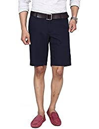 Hammock Men's Solid Chino Shorts - Navy Blue