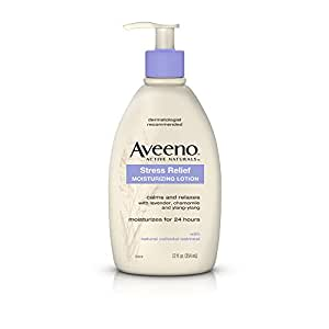 Amazon.com : Aveeno Stress Relief Moisturizing Lotion 12 Oz : Body