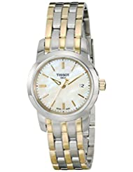 Tissot Women's Analog Display Quartz Two Tone Watch