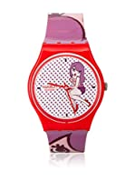 Swatch Reloj de cuarzo Woman PINK SENIORITA GR149 34 mm