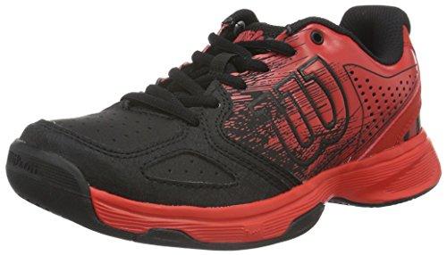 WilsonKaos Comp Jr Radiant.r/bk/radiant.r - Scarpe da Tennis Unisex - Bambini , Multicolore (Mehrfarbig (Radiant Red X166)), 34