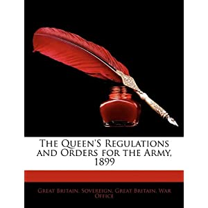 Queens Regulations And Orders | RM.