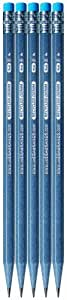 Write Dudes Green Recycled Denim Pencils, 5-Pack (41478)