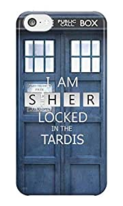 The Fappy Store Sherlocked in the Tardis case hard plastic back case for iphone 5c