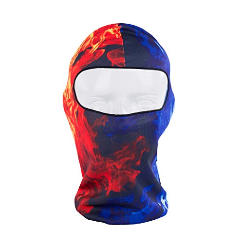 Maoko Camo Sports Thin UV Protective Windproof Face Mask- Motorcycle Cycling Skull Balaclava (Motor Speed Airsoft compare prices)