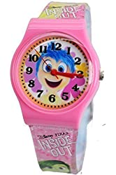 "Disney/Pixar Inside Out ""Joy"" Watch for Kids. Large Analog Display For Easy Reading And Learning Time."