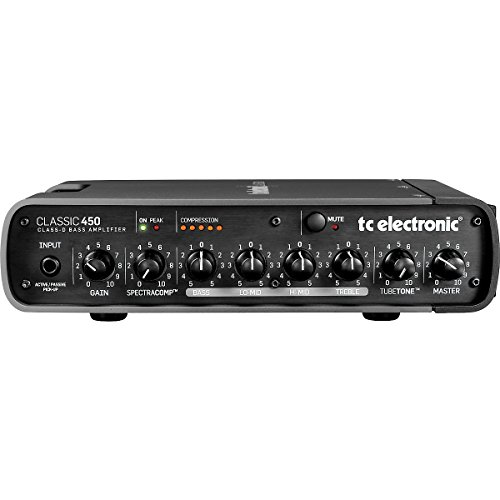 Tc Electronic Classic450 450W Bass Amp Head Only With Class D Amp And Active Power Management