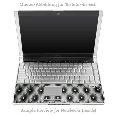 Design Skins für HP EliteBook 2530p Tastatur (Inlay) - Leather Couch Design Folie