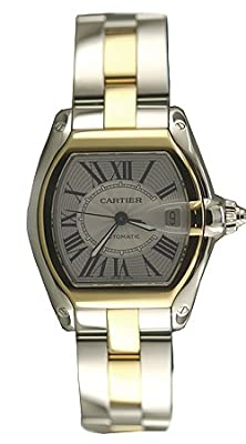 Cartier Men's W62031Y4 Roadster Automatic Two-Tone Watch from Cartier