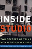 img - for Inside the Studio: Talks With New York Artists book / textbook / text book
