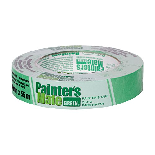 Painter's Mate 671372 Green 8-Day Painting Tape, 0.94-Inch by 60-Yards, Single Roll