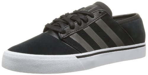 Adidas Originals Mens Culver Low Contempo-0 Trainers G99780 Black/Dark Cinder/Running White FTW 9 UK, 43 EU