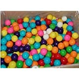 Dubble Bubble One Inch Gumballs Assorted Flavors 5 Pound Box
