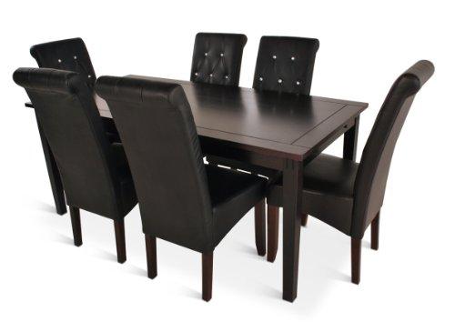 SAM® Tischgruppe Denver 7 teilig