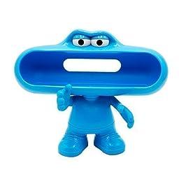 Newlemo Cute Pill Dude Speaker Case Pill Speaker Stander Bluetooth Pill Speaker Holder for Beats Speaker(Blue )