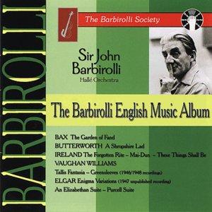 Barbirolli English Music Album (Halle Orch)