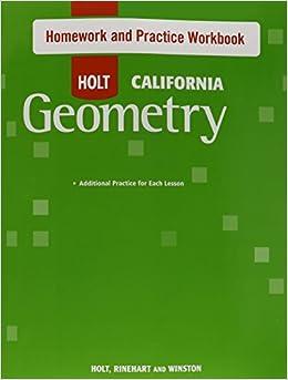Holt homework help geometry