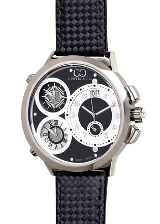 CURTIS & Co. Timepieces W4BK-S