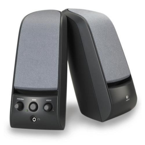Logitech X-120 Compact Powered SpeakersB0000C120D : image