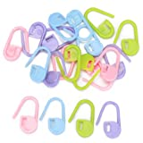 Approx. 20pcs Knitting Crochet Locking Stitch Markers