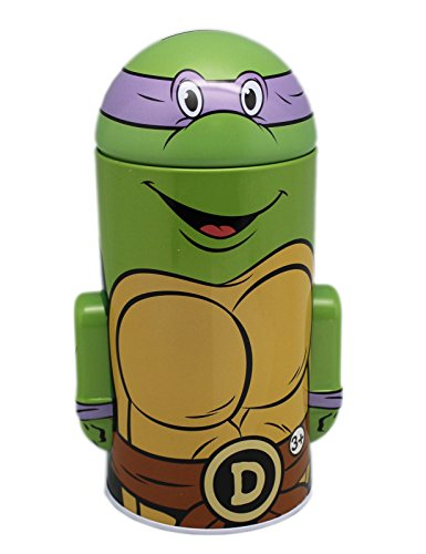 Teenage Mutant Ninja Turtles Donatello Tin Coin Bank - 1