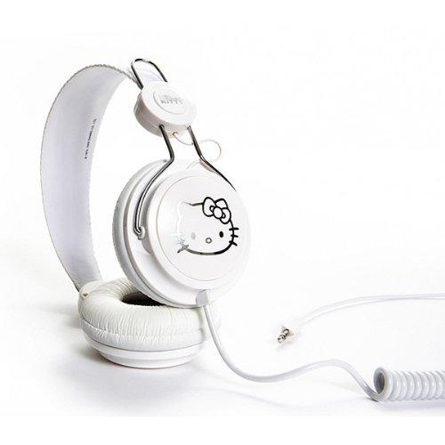 Hello Kitty ハロー キティー Headphone White/Silverの写真02。おしゃれなヘッドホンをおすすめ-HEADMAN(ヘッドマン)-