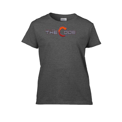Iamtee Womens The Code : Up Up Down Down Left Right Left Right B A Start T-Shirt-Charcoal-Xxl