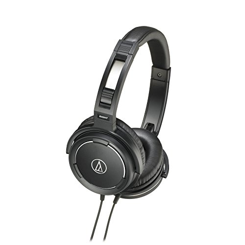 Audio Technica ATH-WS55 Black Solid Bass Over Ear Headphones Black Friday & Cyber Monday 2014