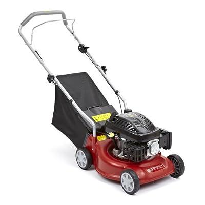 "New Trueshopping® Lawnmower 139cc 4 Stroke Petrol 4 Wheel Rotary Garden Lawn Mower 16"" 2.5kw 3.5hp"