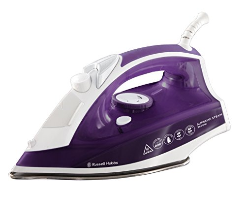 russell-hobbs-23060-supreme-steam-traditional-iron-2400-w-purple-white