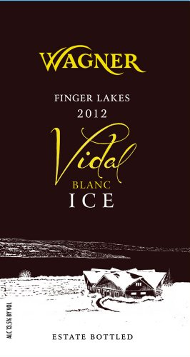 Wagner 2012  Vineyards Vidal Blanc Ice 375 mL