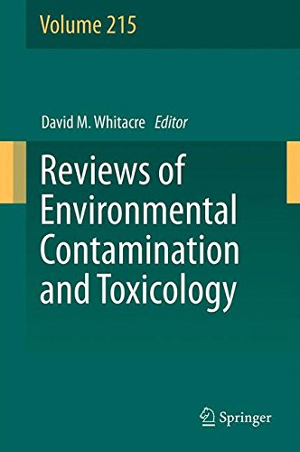 Reviews Of Environmental Contamination And Toxicology (Volume 215)