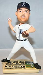 Justin Verlander 2014 Detroit Tigers Newspaper Bobble Head by Forever Collectibles