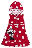 Disney Store Minnie Mouse Swimsuit Cover Up Size Medium 7/8: Red Hooded Swimwear