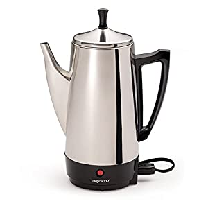 Presto Stainless Steel Coffee Maker by Presto