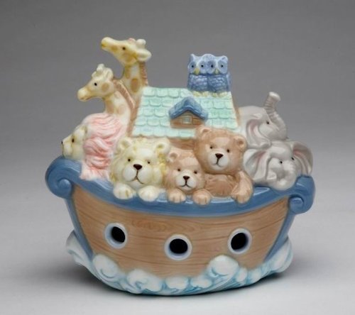 Cosmos 2041 Fine Porcelain Noah's Ark Piggy Bank,