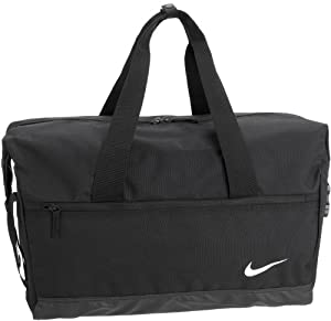Nike Football Team Training Duffle Gym Travel Bag In Black-Black by Nike