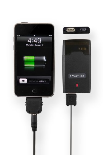 iPartner Mini Battery Pack and Charger for iPod and iPhone by Cyanics