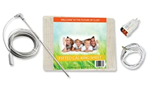 Earthing Fitted Sheet Kit, Cal King
