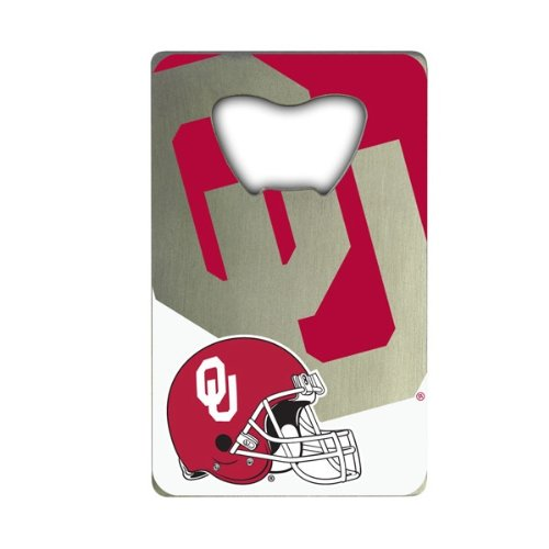 NCAA Oklahoma Sooners Credit Card Style Bottle Opener