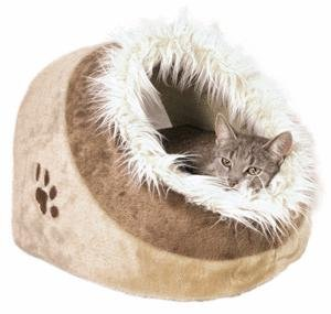 Minou Plush Cat Cave Bed Cats Igloo Bed Cats Bed