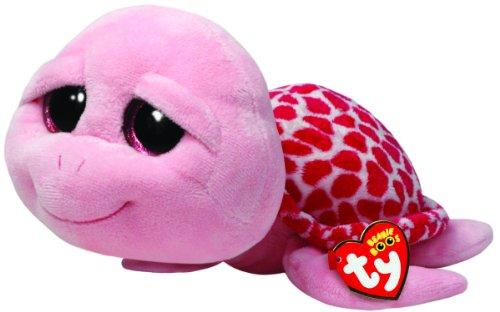 Ty Beanie Boos Buddies Shellby Pink Turtle Medium Plush