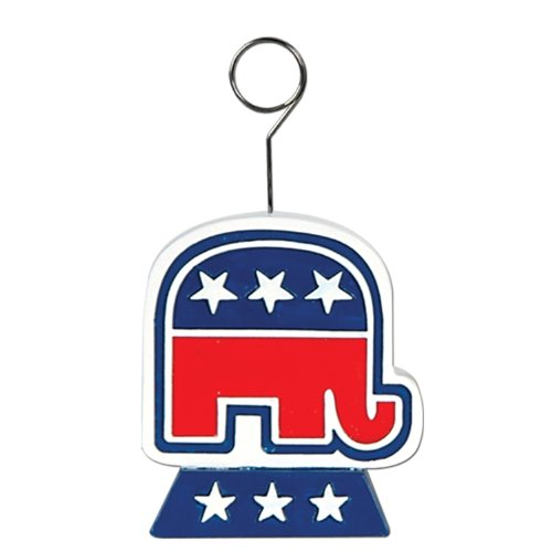 Republican Photo/Balloon Holder Party Accessory (1 count)