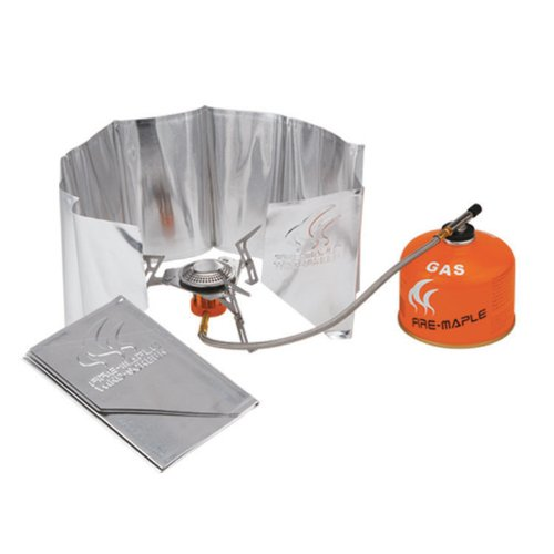 Fire Maple Aluminum Camping Wind-screen Camping Stove Windshield fire maple panshi outdoor all area split gas stove head