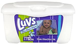 Luvs Wipes Natural Tub