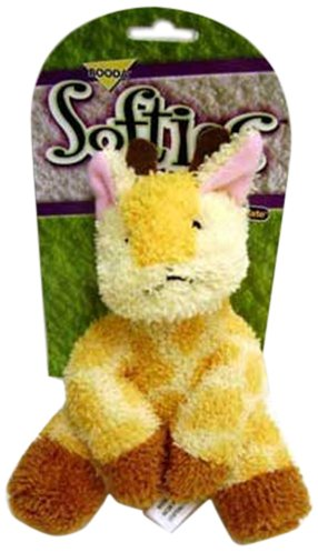 Booda Corporation (Aspen) DAP53515 Softies Gail Giraffe Pet Toy, Medium