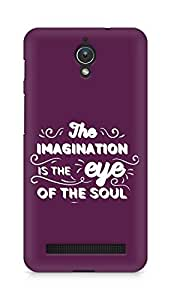 Amez The Imagination is the Eye of the Soul Back Cover For Asus Zenfone C ZC451CG