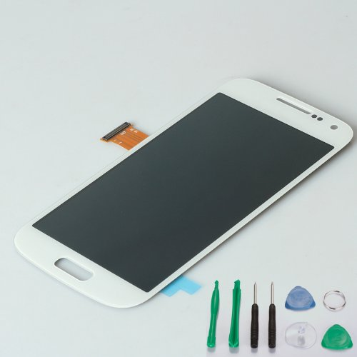 Generic Lcd Touch Screen Display + Digitizer Assembly (4.3 Inch) White Compatible With Samsung Galaxy S4 Mini I9500 I9190 I9195 I9192