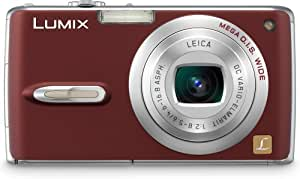 Panasonic DMC-FX07R 7.2MP Digital Camera with 3.6x Optical Image Stabilized Zoom (Red)